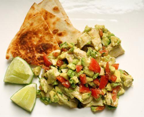 The Bitten Word: Guacamole Chicken Salad