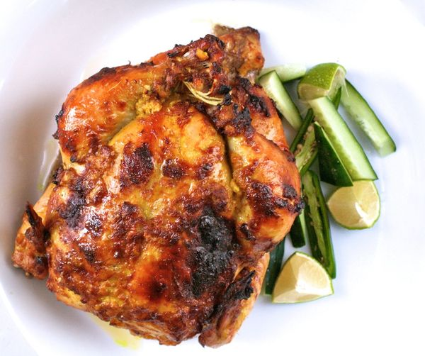 the bitten word tandoori marinated chicken with cucumber lime and chiles. Black Bedroom Furniture Sets. Home Design Ideas