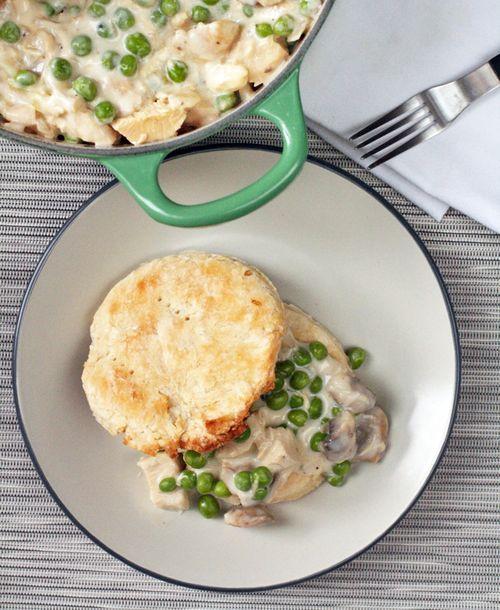 Stovetop chicken pot pie1