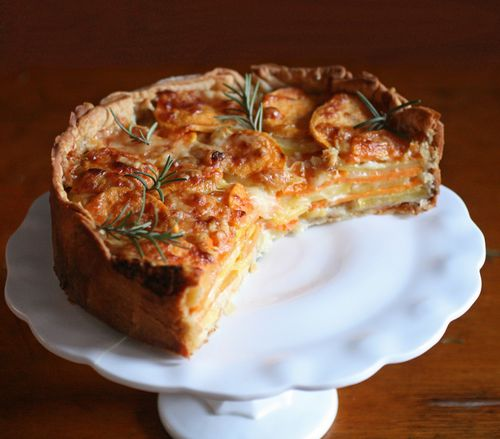 Rosemary potato gratin
