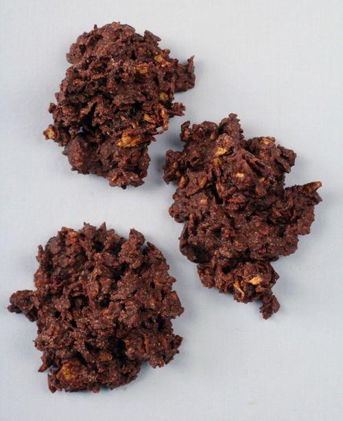 Choco cornflak cookies