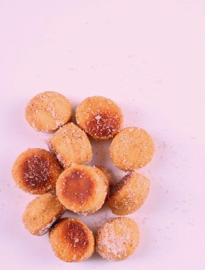 Sweet potato doughnut holes