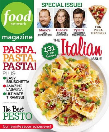 Foodnetworkmag march