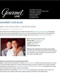 Gourmetliveinterview