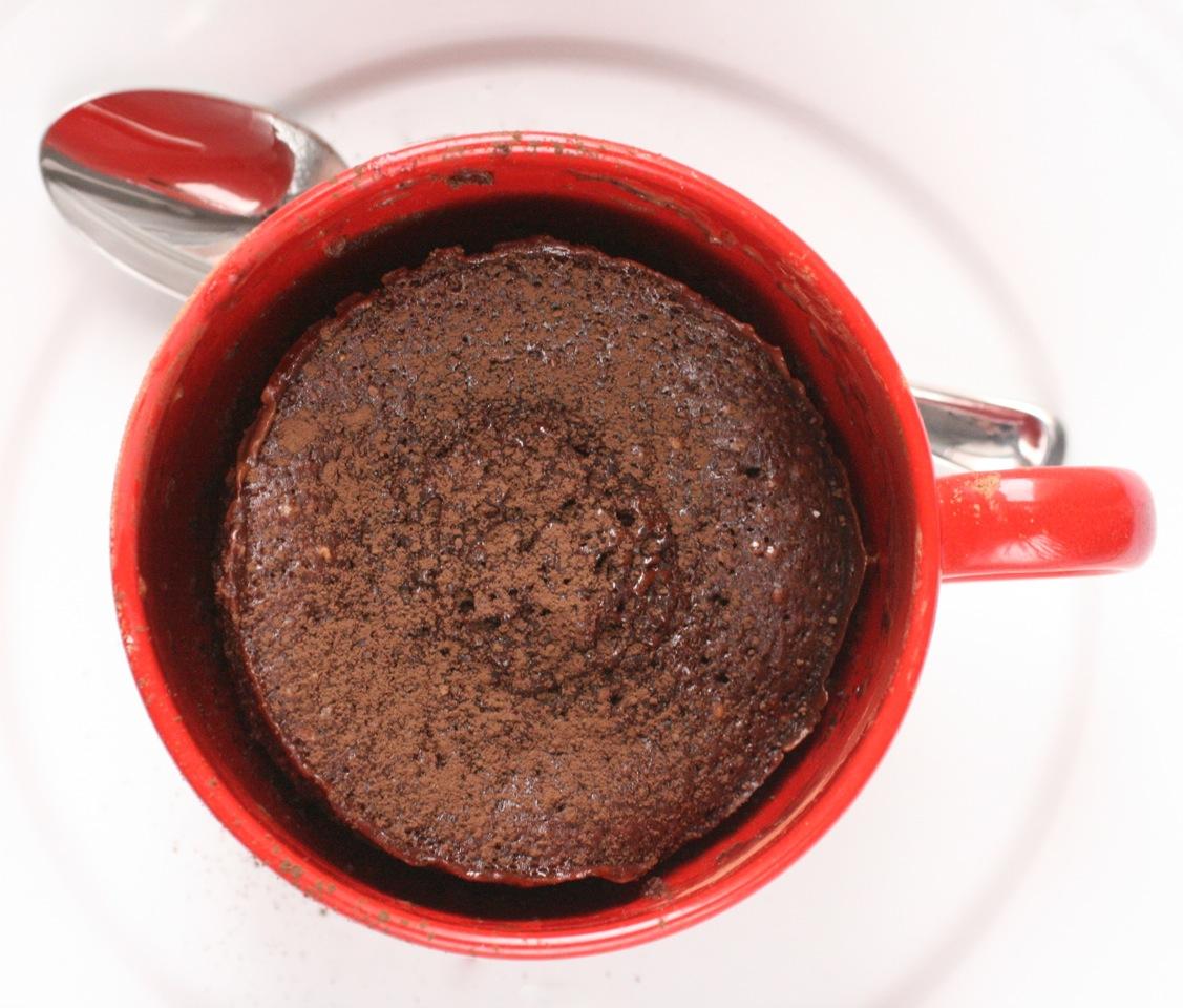 MICROWAVE CHOCOLATE CAKE - Durmes Gumuna