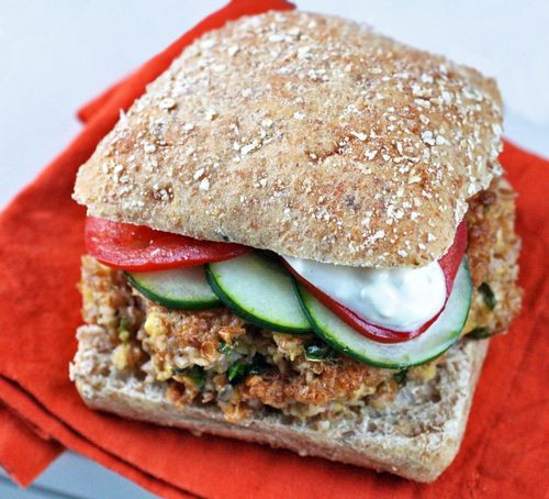 Chickpea burger1