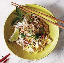 Pad thai fine cooking