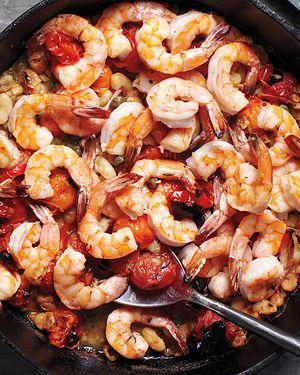Msl shrimp skillet