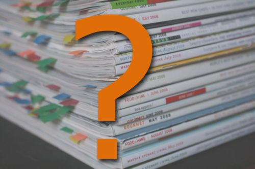Your questions -- one magazine version 2 v2