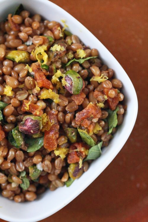 Wheat berry pilaf 2
