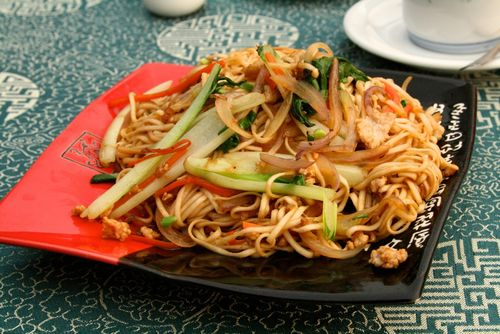 China noodles