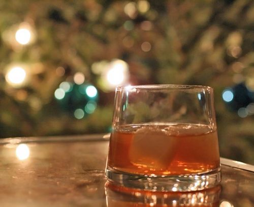Gingersnap cocktail