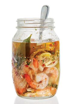 Pickled shrimp saveur