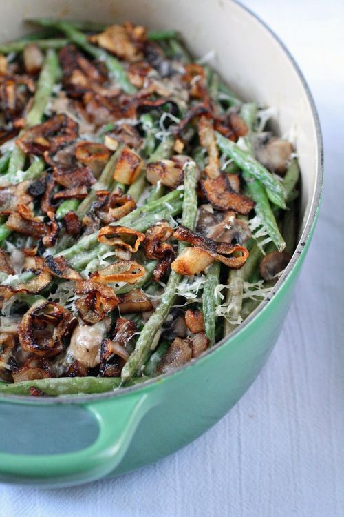 ... Word: Thanksgiving 2011: Green Bean Casserole With Crispy Shallots
