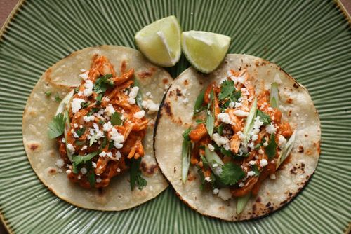 Chicken tinga tacos 2