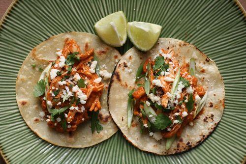 Chicken tinga tacos 2