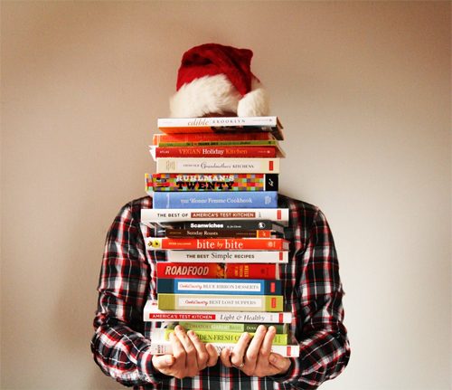 Christmas books giveaway