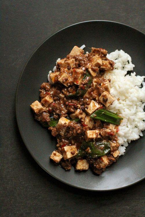 Szechuan peppercorn tofu beef