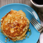 Fresh-corn-pancakes