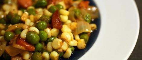 Sweet Corn Succotash