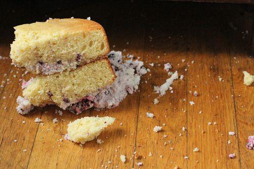 Blackberry cream cake3