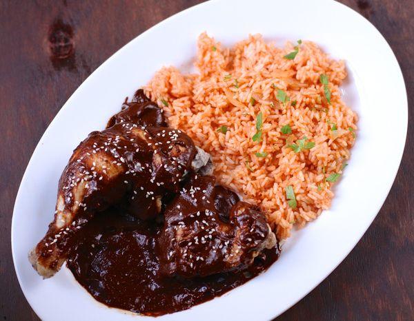 The Bitten Word Chicken With Puebla Style Mole Sauce