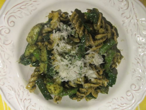 FW_Fusilli with Asparagus, Zucchini and Basil-Mint Pest