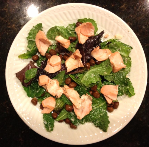 FW_Poached Salmon Salad