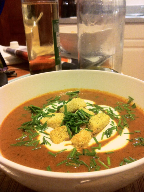 Saveur_Cream of Tomato Soup