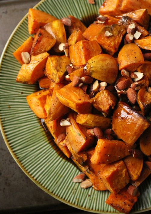 Sweet potatoes bourbon maple glaze2