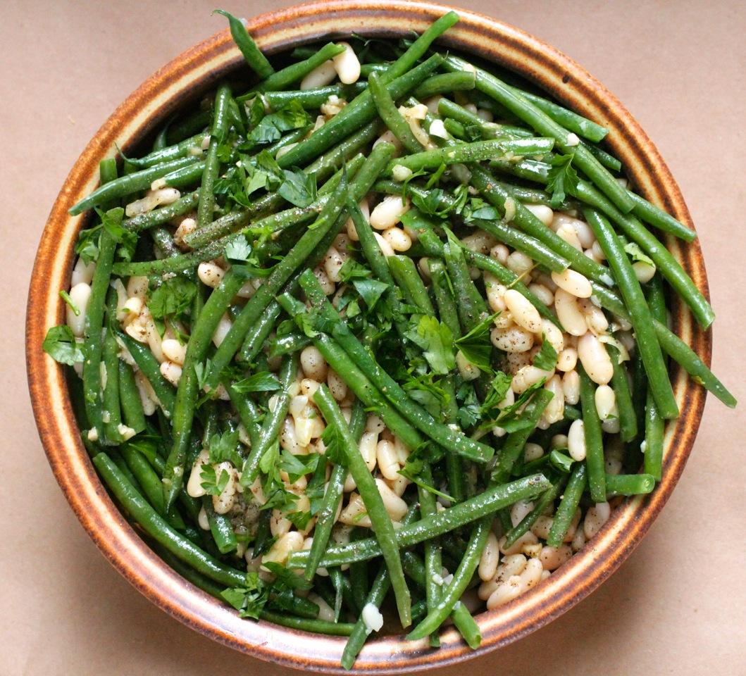 Haricot Vert Beans Haricot Verts w White Beans