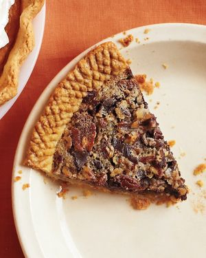 Sorghum chocolate pecan pie MSL