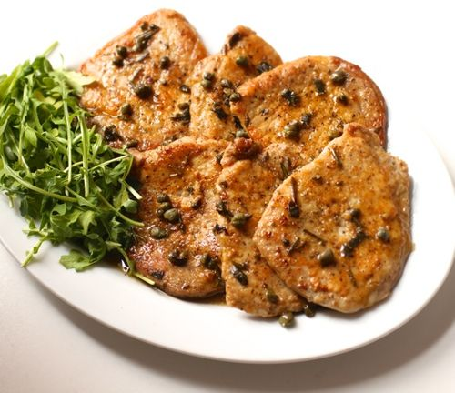Pork scaloppine
