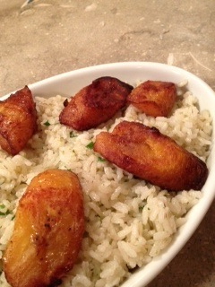 FoodNetwork|Cilantro and Rice Plantains