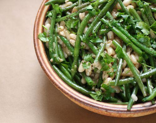 Haricot verts w white beans2