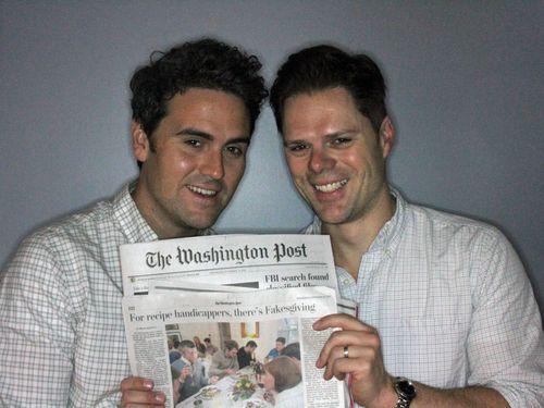 Washington post fakesgiving