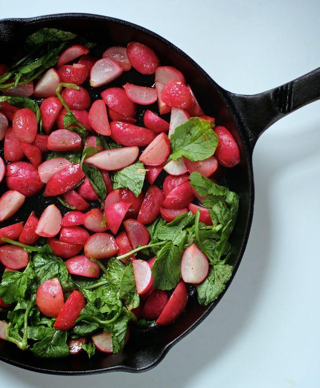 Honey roasted radish