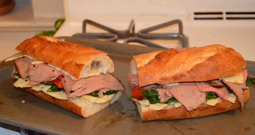 FW_Beef, Broccoli Rabe and Provolone Panini