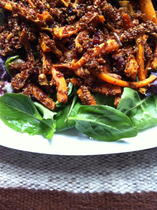 FW_Roasted Carrot and Red Quinoa salad