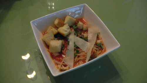 Spicy Scallop Pasta