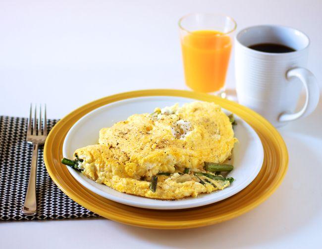 Fluffy omelet main