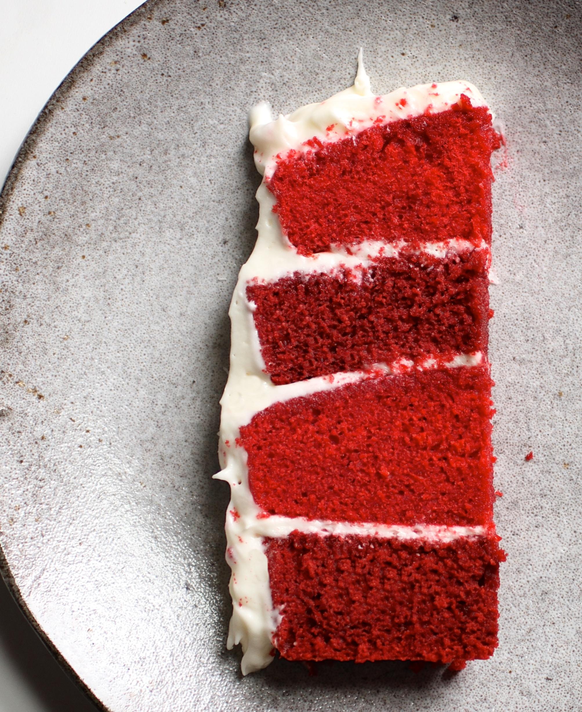 red velvet cake texture. Red Velvet Cake Recipe Texture C