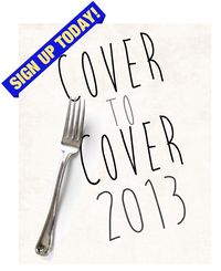 Cover to cover 2013 3 SIGN UP banner