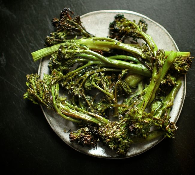 Roast broccoli rabe