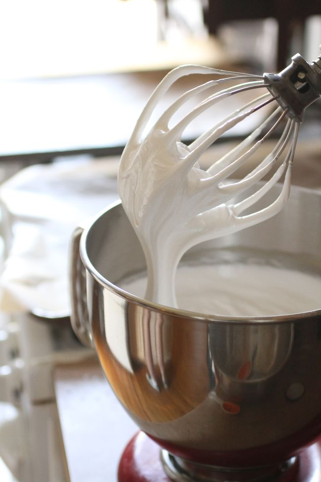 Meringue making