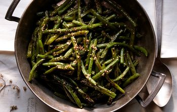 Green-beans-with-benne-and-sorghum-bon-appetit
