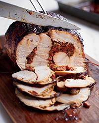 Pimenton turkey food and wine