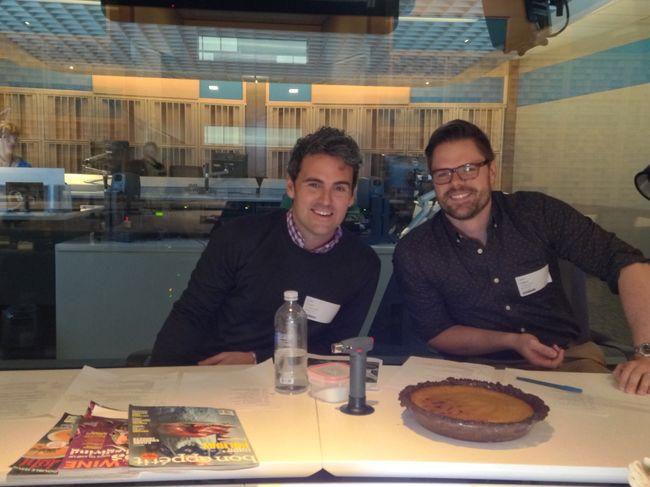 Us at NPR studio