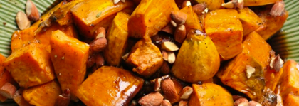 Sweet potatoes bourbon