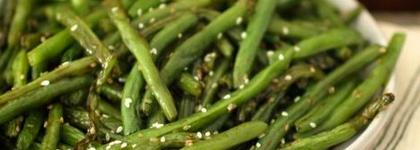 Green beans sorghum